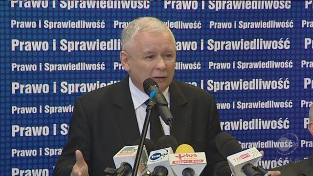 Kaczyński: Stwórzmy patriotyczny front (TVN24)
