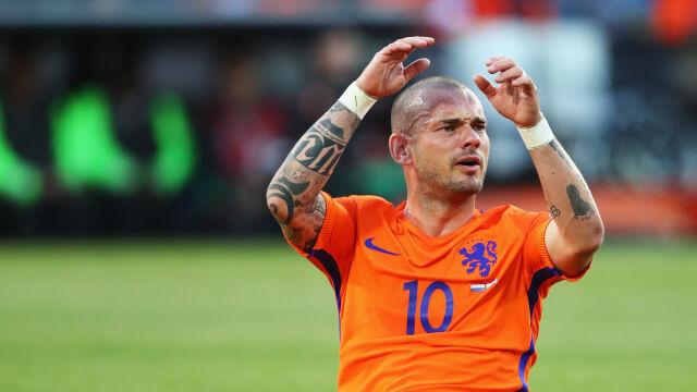 Pijany skakał po samochodzie. Wesley Sneijder aresztowany