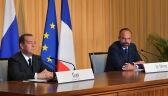 Premierzy Francji i Rosji spotkali się w Hawrze
