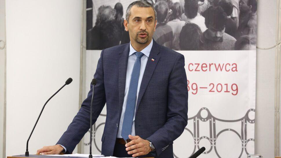 Marek Pęk nowym wicemarszałkiem Senatu. Zastąpi Adama Bielana