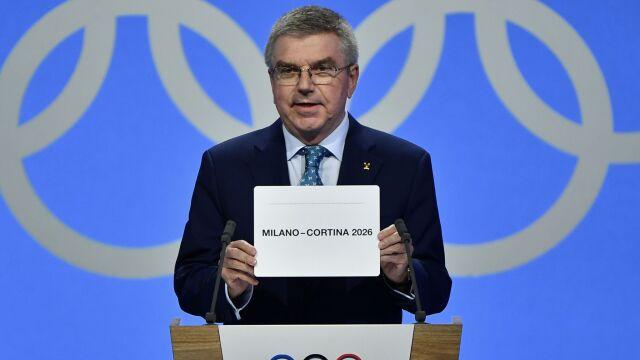 Mediolan i Cortina d'Ampezzo gospodarzami zimowych igrzysk 2026