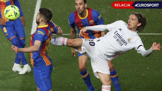 Real Madryt - FC Barcelona (RELACJA)