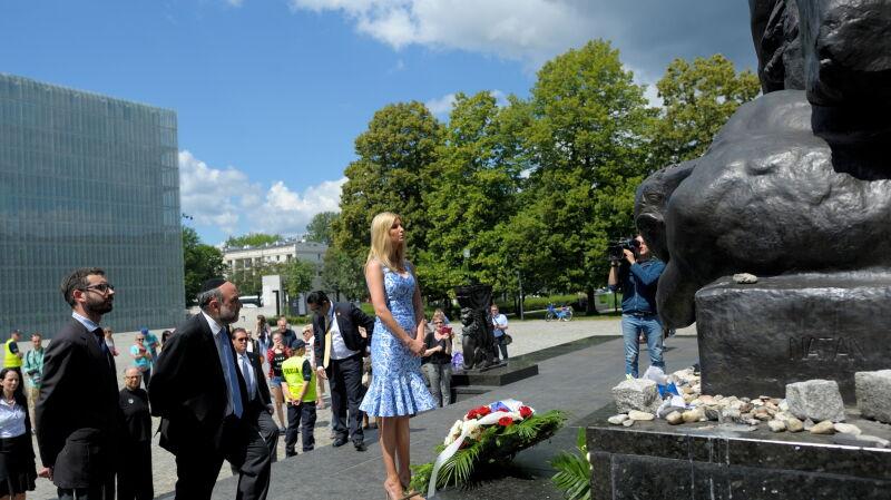 Ivanka Trump in Muranow