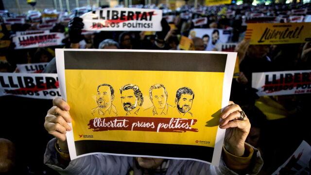 Katalońscy separatyści usłyszeli wyroki.