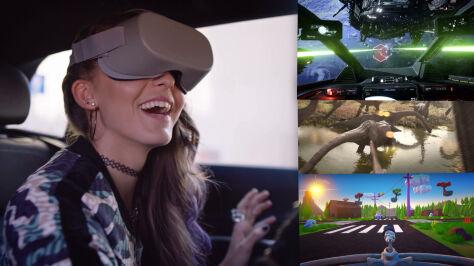 W aucie jak w parku rozrywki. Ruszają testy wirtualnej rzeczywistości w pojazdach