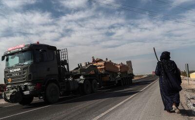Działania tureckiej armii w Syrii