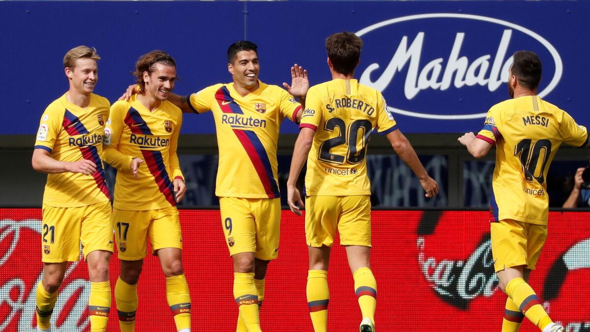 Zabawy tercetu MSG. Barcelona już na czele tabeli