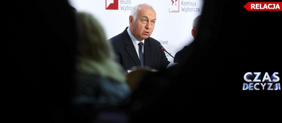 PKW podaje oficjalne wyniki wyborów do Sejmu i Senatu