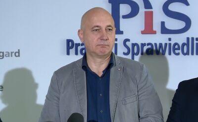 Brudziński: nie mam takiej informacji żeby ktoś z kierownictwa partii rozmawiał z Panem Banasiem o dymisji