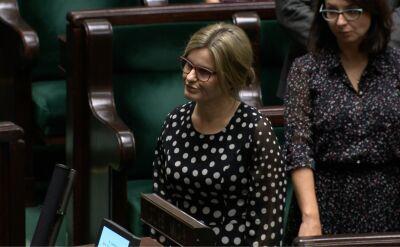 Edyta Kubik złożyła ślubowanie poselskie, objęła mandat po Kornelu Morawieckim
