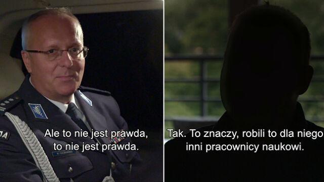 Rektor oskarżany o plagiat i mobbing. Kontrola w szkole policji