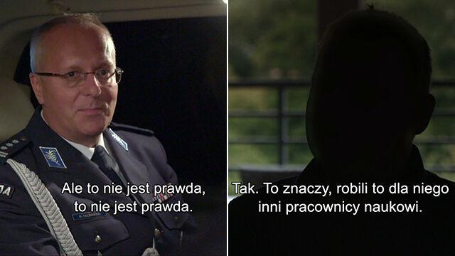 """Rektor policyjnej szkoły i jego habilitacja. Druga część reportażu """"Superwizjera"""""""