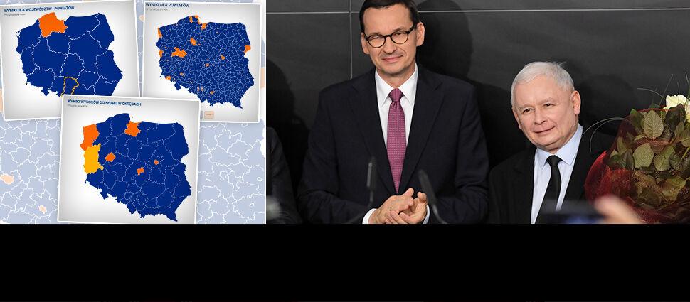 Wyborcze mapy kraju