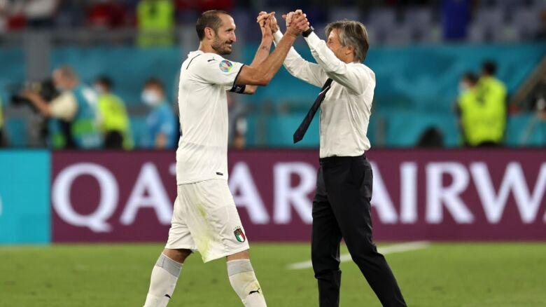 Powiedział Włochom, że zostaną mistrzami.