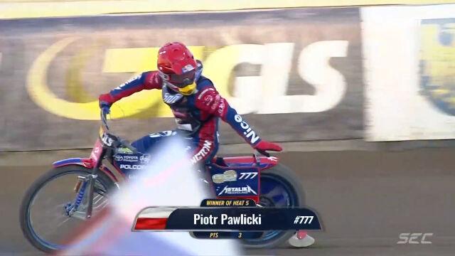 Pawlicki lepszy od Dudka w 5. biegu 4. rundy SEC 2021