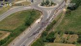 Mocne tempo w peletonie na początku 12. etapu Tour de France