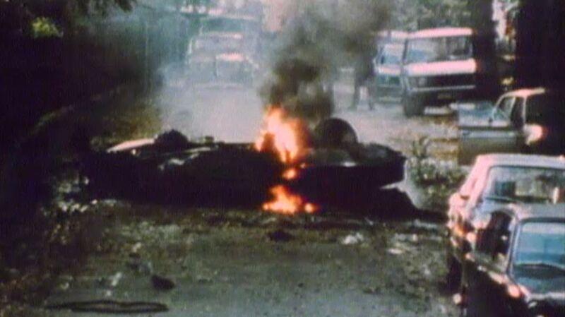 Jeden z licznych zamachów IRA. Londyn 1975 rok