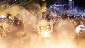 Protesty i starcia z policją w Hongkongu