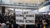 Mieszkańcy Hongkongu rozpoczęli trzydniowy protest na lotnisku