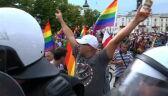 W Płocku przeszedł pierwszy Marsz Równości. Doszło do jednego incydentu