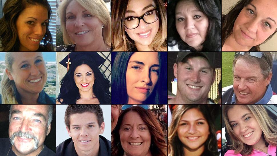 Policjant, wojskowy, nauczycielki... Lista ofiar zamachowca z Las Vegas