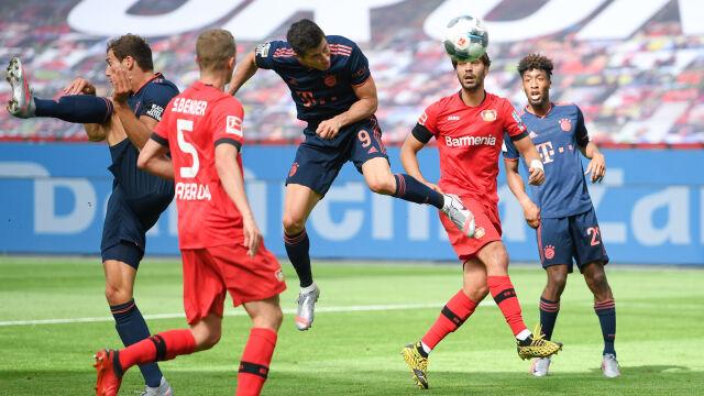 Lewandowski wyrównał najlepsze osiągnięcie w karierze