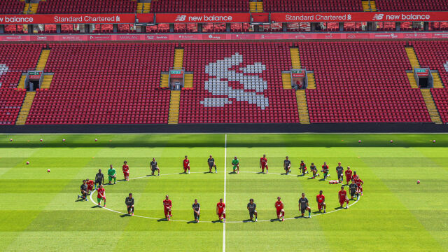 Liverpool wspiera protestujących w USA. Piłkarze wielu klubów wzywają do walki z rasizmem