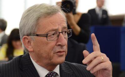 """Juncker przekonuje europosłów. """"300 mld euro na inwestycje i unia energetyczna"""""""