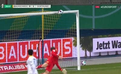 Poprzeczka uratowała Borussię Dortmund przed utratą gola