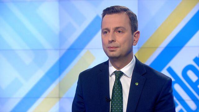"""Władysław Kosiniak-Kamysz był gościem """"Jeden na jeden"""" w TVN24"""
