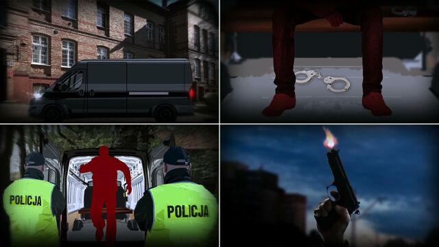 """Podejrzany uwolnił się z kajdanek i uciekł. """"Żółta kartka"""" dla policjantów"""