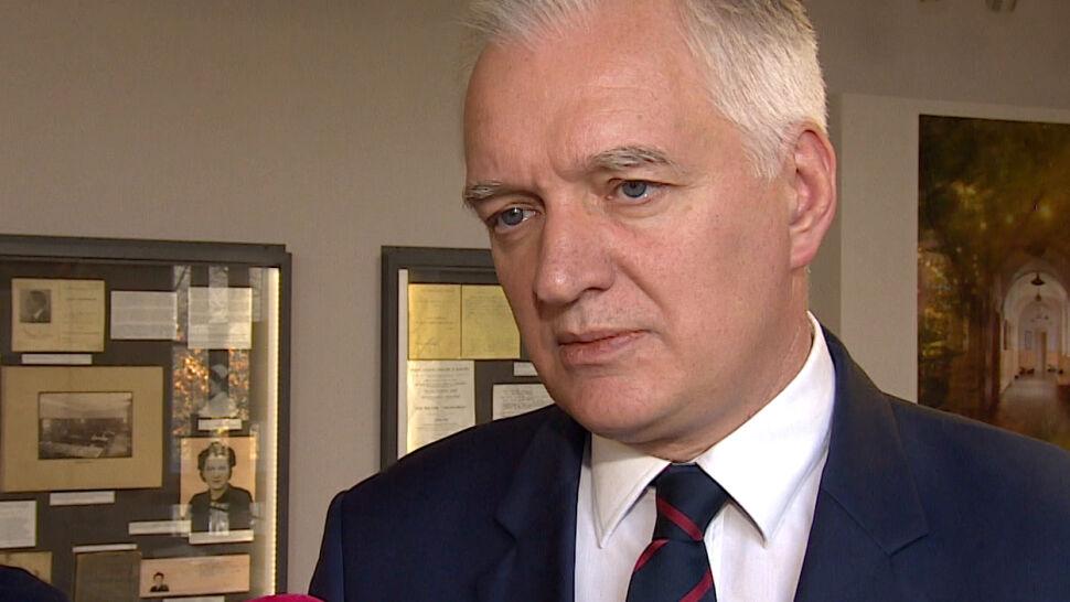 Gowin o zarobkach w NBP: te pieniądze powinny być wydawane z szacunkiem dla ciężkiej pracy Polaków