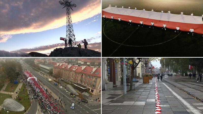 Od morza do Tatr. Polacy świętują stulecie