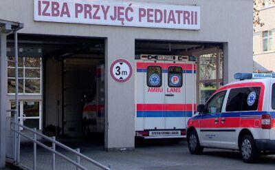14-miesięczne dziecko zmarło w szpitalu