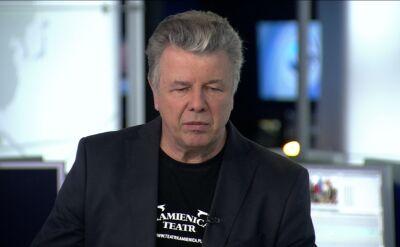 Emilian Kamiński był gościem TVN24