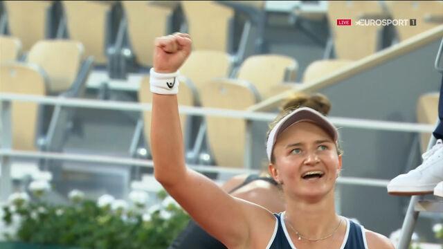 Krejcikova pokonała Sakkari w półfinale French Open