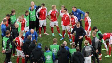 Rozmowa piłkarzy z Eriksenem zadecydowała o wznowieniu meczu Dania - Finlandia