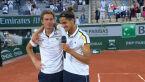 Herbert i Mahut po wygraniu finału gry podwójnej we French Open