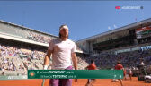 Tsitsipas wygrał 2. seta finału French Open