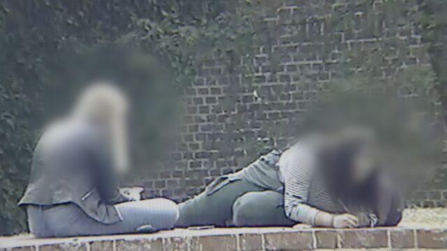 W oku kamery: pisały wulgaryzmy na murach zamku. 15-latki zatrzymane