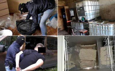 CBŚP zabezpieczyło 63.5 kilogramów amfetaminy w domu pod Płockiem