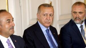 Incydent na lotnisku w Sarajewie.  Ochroniarze Erdogana szarpali się z policją