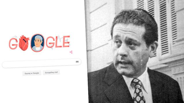 Google Doodle świętuje 96. rocznicę urodzin René Favaloro