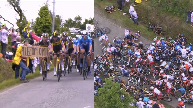 Sprawczyni karambolu na Tour de France poznała wymiar kary