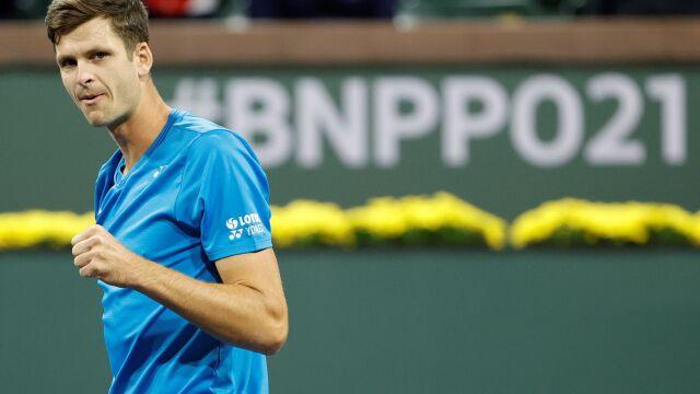 Słodka zemsta Hurkacza. Doskonały mecz i awans do ćwierćfinału Indian Wells