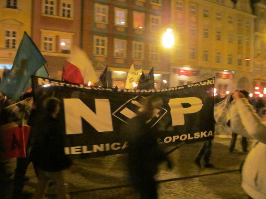 Marsz zorganizowali członkowie NOP