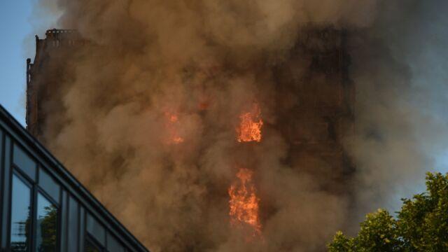 Pożar wieżowca w Londynie. Polsko-angielska rodzina wśród poszukiwanych