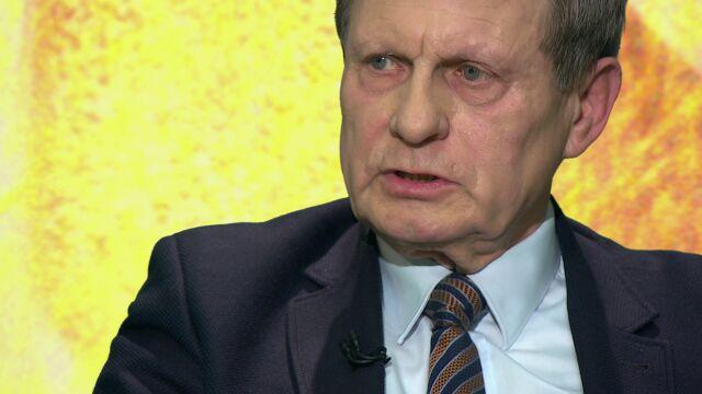 """Leszek Balcerowicz gościem """"Piaskiem po oczach"""" TVN24"""