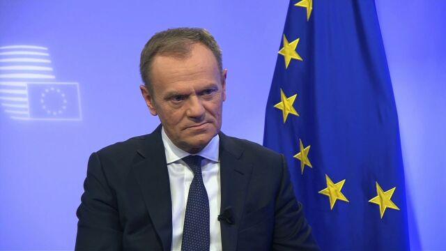 Tusk: nie będę obojętny na to, co się dzieje w Polsce, bo dzieją się złe rzeczy