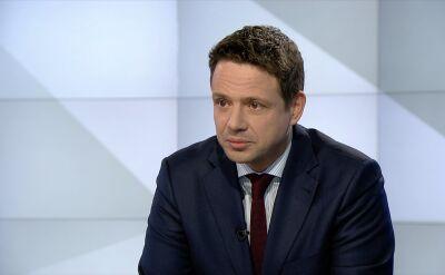 Trzaskowski: politycy PiS z pierwszych stron gazet chcą uciekać do Brukseli